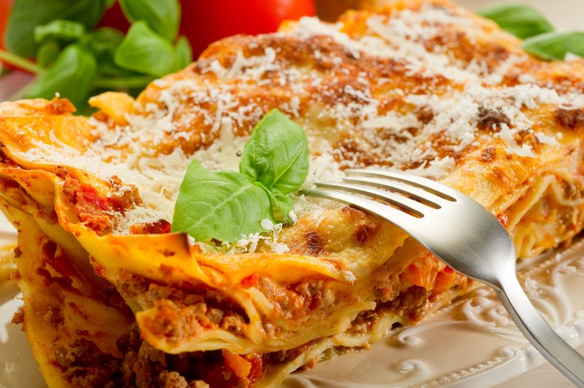 10426577 – italian lasagne  with ragout