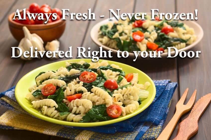 Always Fresh, Never Frozen, Delivered Right to your Door